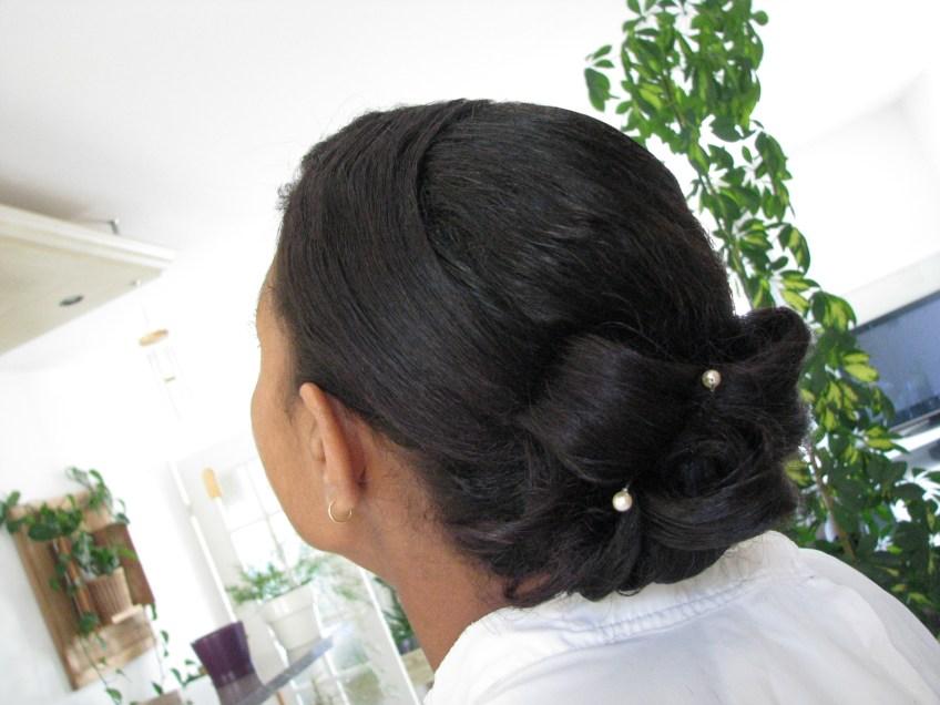Mariage coiffure à domicile artigues