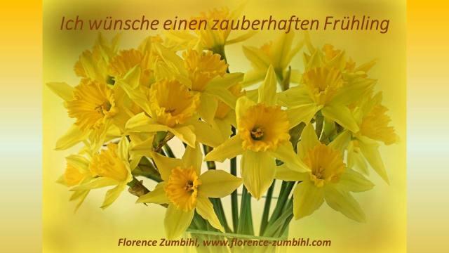 Zumbihl Florence – Newsletter Frühlingserwachen