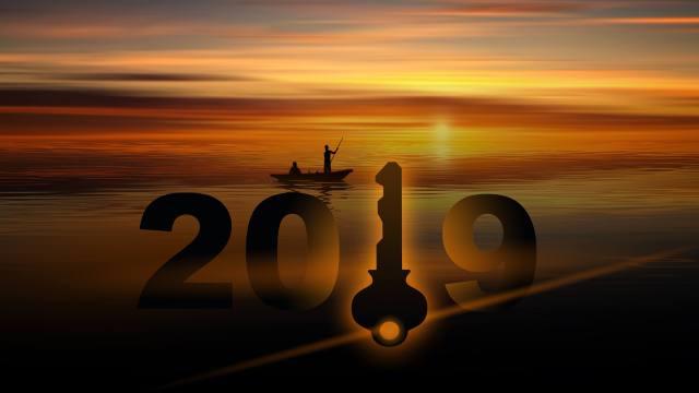 Happy New Year 2019 - key 3727573