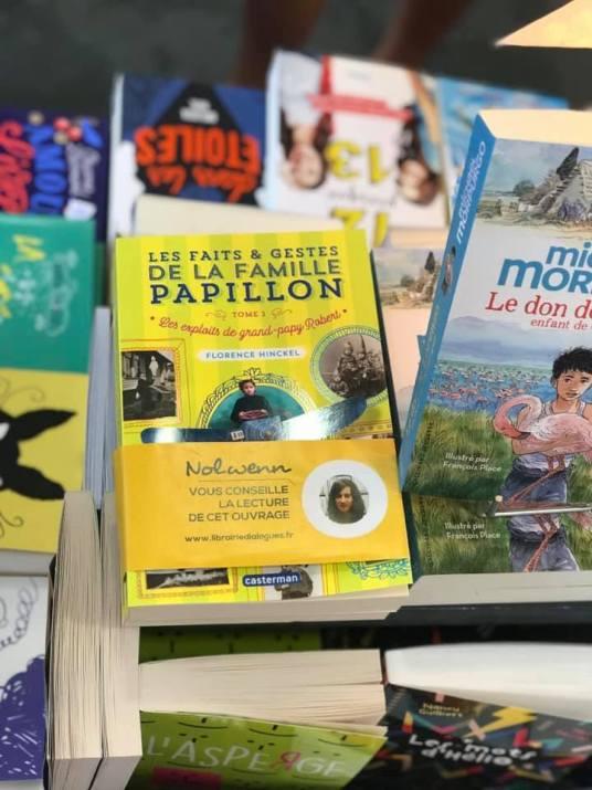 La famille Papillon : Librairie Dialogues, Brest