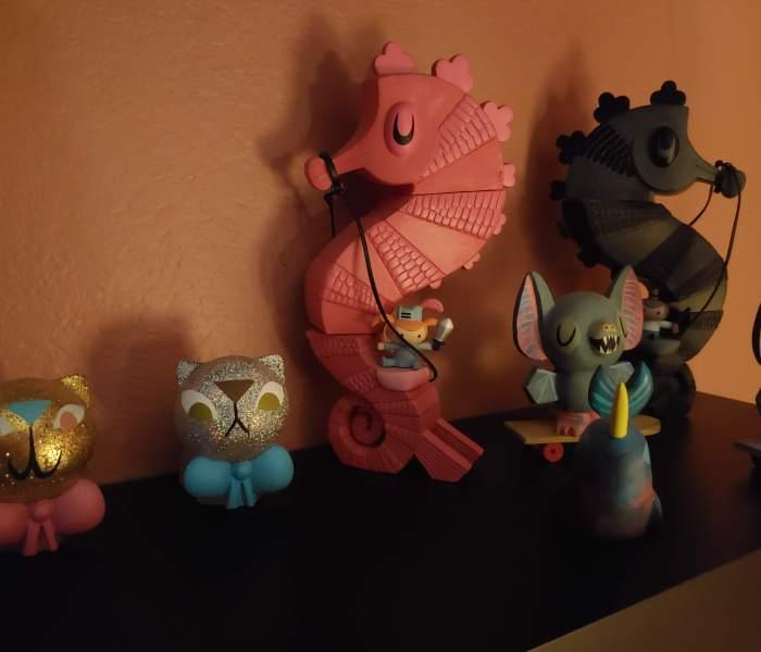 Toys in the dark