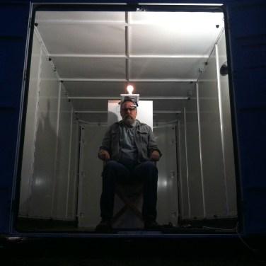 John Slepian's Mobile Art Box installation
