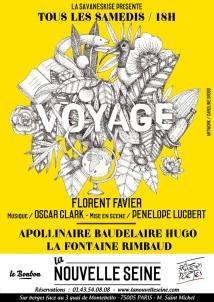 Affiche Voyage Samedi