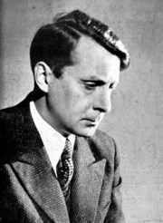 Charles Munch, French conductor, led the first performance of Florent Schmitt's Symphony No. 2 in 1958