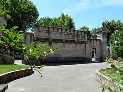Cimetiere de Bagneux, burial site of composer Florent Schmitt