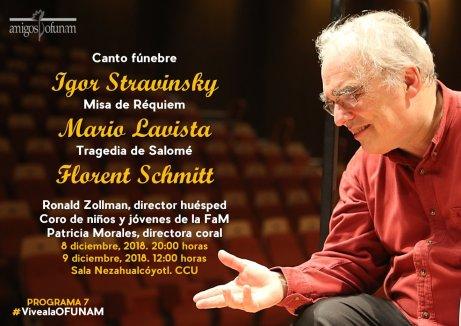 Florent Schmitt Salome UNAM Zollman 2018