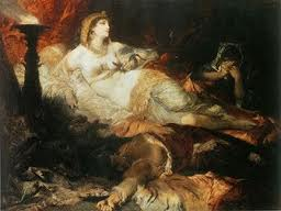 The Death of Cleopatra <em>(painting by Hans Makart)</em>