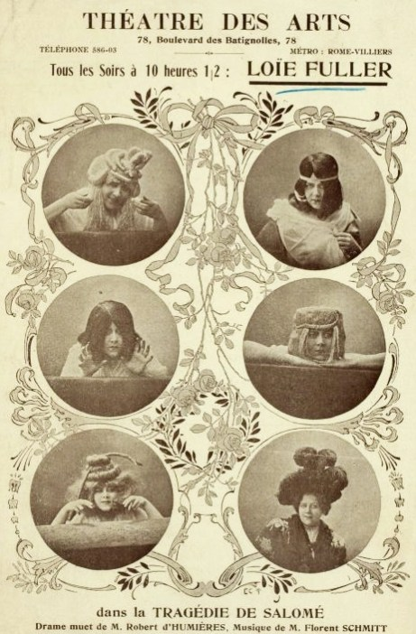 Tragedie de Salome 1907 Program Cover