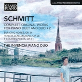 Florent Schmitt: Duo-Piano Music, Volume 2 (Invencia Piano Duo), Grand Piano