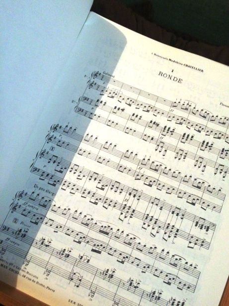 Florent Schmitt Sur cinq notes
