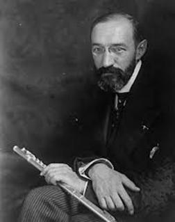 Georges Barrere, French flautist