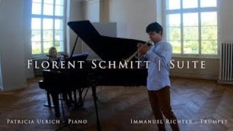 Immanuel Richter Patricia Ulrich Florent Schmitt Trumpet Suite