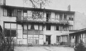 William and Ida Molard studio and salon