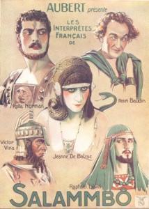Salammbo movie poster