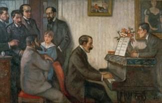 Les Apaches (1910) painting by Georges d'Espagnat