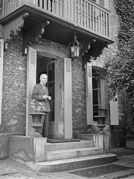 Florent Schmitt French composer 1937 photo