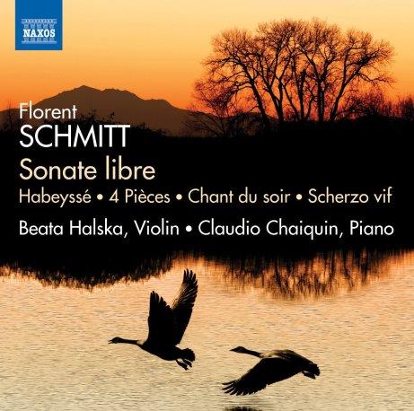 florent schmitt sonate libre works for violin piano