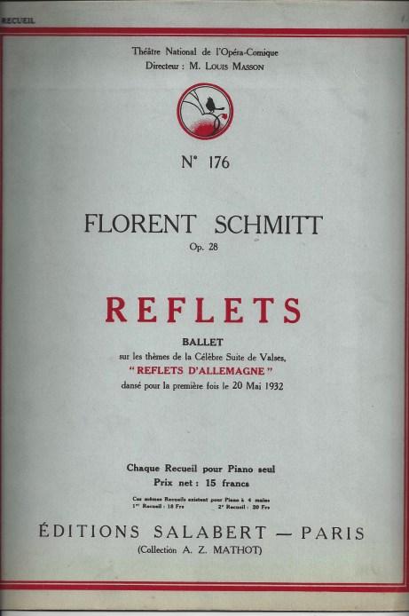 Florent Schmitt Ballet Version of Reflets d'Allemagne