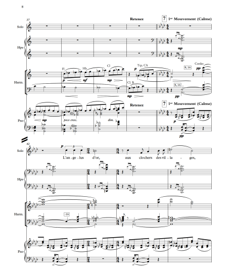 Florent Schmitt Chant de Guerre Emmanuel Pelaprat transcription