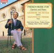 French Clarinet Recital Gervase de Peyer Chandos Florent Schmitt