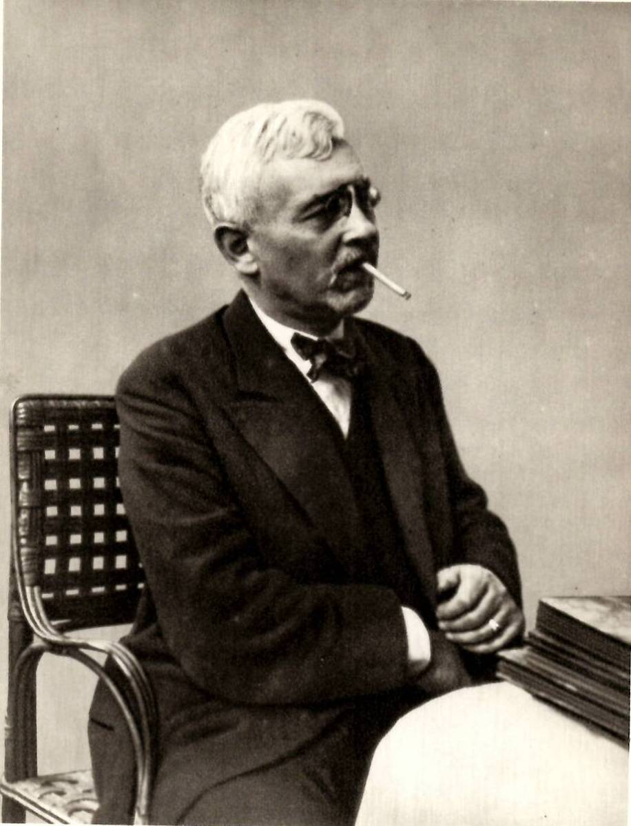 Florent Schmitt French Composer 1925 photo