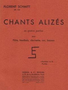 Florent Schmitt Chants alizes score Durand 1955