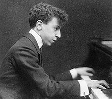 Arthur Rubinstein pianist 1908 photo