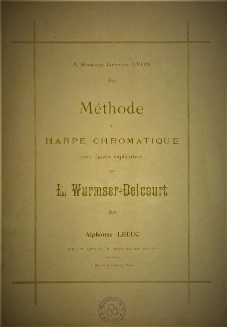 Method de Harpe Chromatique Lucile Wurmser-Delcout