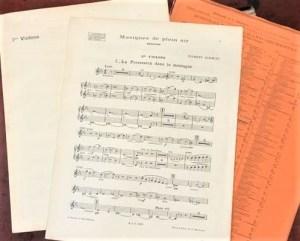 Florent Schmitt Musiques de plein air score