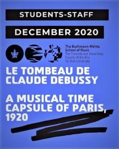 Le Tombeau de Debussy Buchmann-Mehta Tomer Lev