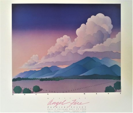 Music from Angel Fire Festival Poster 1984