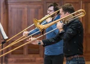 Karl-Philipp Kaptain Douglas Murdoch trombone
