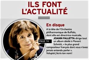 Diapason 3-2021 issue Falletta Schmitt