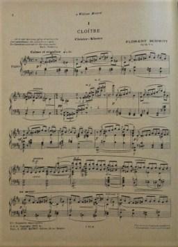 Florent Schmitt Musiques intimes Cloitre
