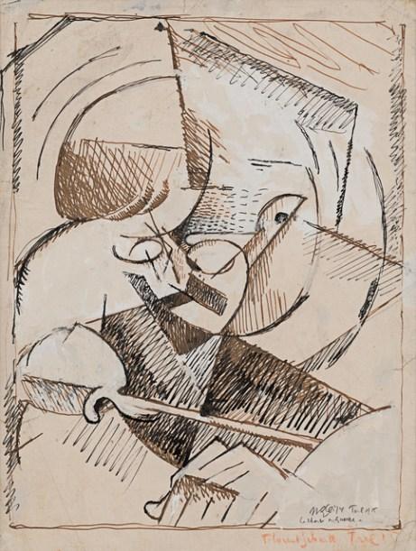 Albert Gleizes Portrait de Florent Schmitt