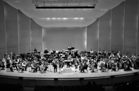 Buffalo Philharmonic rehearsal Florent Schmitt 2020