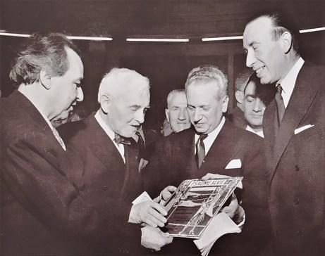 Florent Schmitt Arthur Honegger Georges Tzipine Pierre Bourgeois February 1953