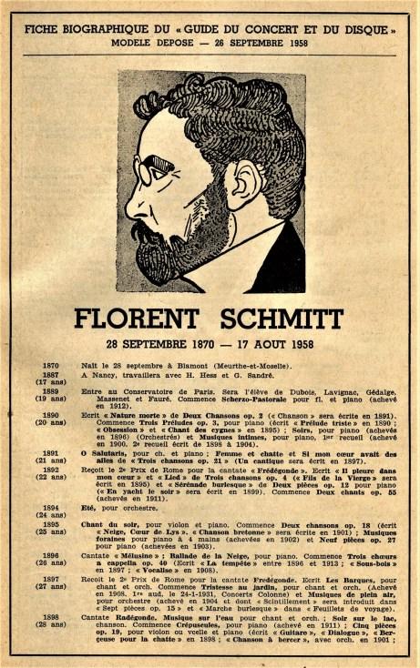 Florent Schmitt Composition Timeline Claude Chamfray Page 1