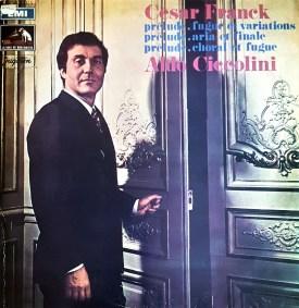 Cesar Franck Aldo Ciccolini EMI Jugoton