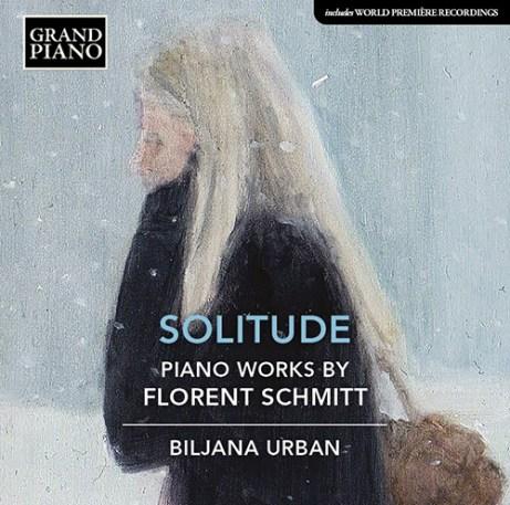 Forent Schmitt Solitude Piano Works Biljana Urban NAXOS Grand Piano
