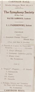 Florent Schmitt Pupazzi NYPO 1916