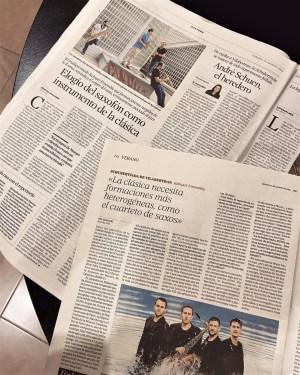 Kebyart Ensemble press coverage