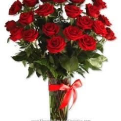 Florero con 18 rosas - F1