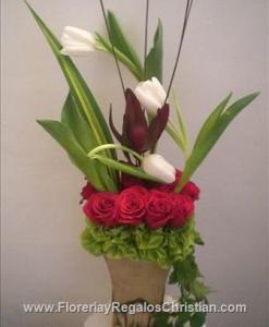 Arreglo floral para aniversario - C1