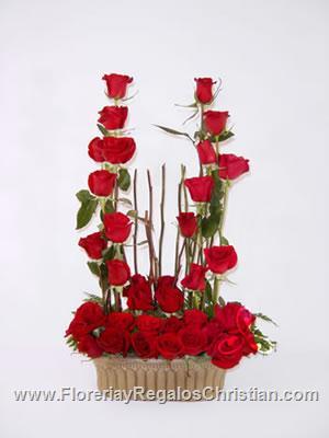 Arreglo floral tipo jardinera - E1