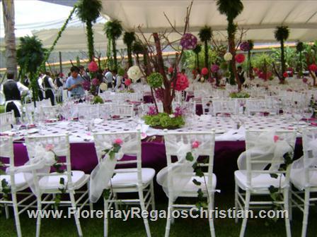 Decoracion de eventos y centros de mesa en Tijuana