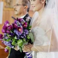 Hermoso ramo de novia con tulipanes y hortencias - R5