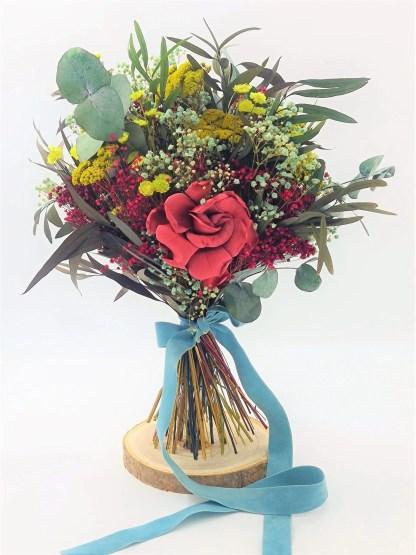ramo novia gardenia