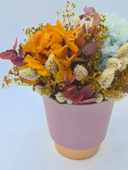 CENTRO LUNARIA flores preservadas