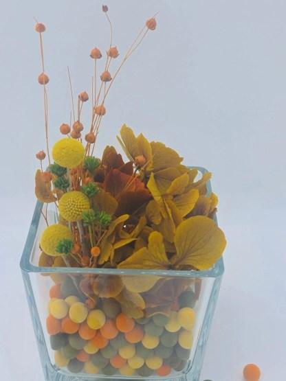 centro flores preservadas